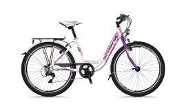 Bicicleta SPRINT Starlet Nexus 3 24 Roz/Alb 2018