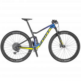 Bicicleta SCOTT Spark RC 900 Team Issue AXS Mov/Negru/Galben L - 2020