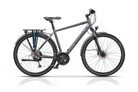 "Bicicleta CROSS Legend Man Trekking 28"" Gri/Negru 560mm"