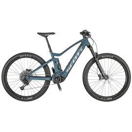 Bicicleta SCOTT Strike ERide 930 L Albastru/Argintiu