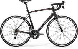 Bicicleta MERIDA Ride 300 L 56 Negru Alb Curcubeu 2017