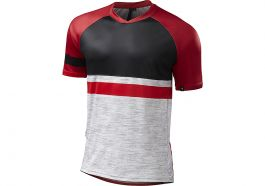 Tricou SPECIALIZED Enduro Comp - Grey/Red M