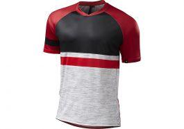 Tricou SPECIALIZED Enduro Comp - Grey/Red XL