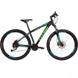"Bicicleta CROSS Traction SL3 27.5"" negru/verde 460mm"