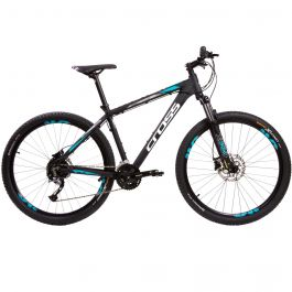 "Bicicleta CROSS Traction SL5 29"" negru/alb 510mm"
