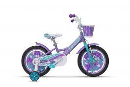 "Bicicleta ULTRA Larisa 16"" roti alum. - mov"