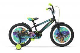 Bicicleta ULTRA Kidy 20 negru mat