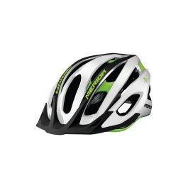 Casca MERIDA Team MTB Glossy Alb/ Verde (52-56cm)