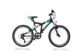 """Bicicleta ULTRA Apex 24"""" negru"""