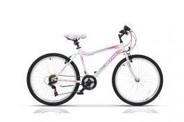 "Bicicleta ULTRA Gravita 26"" alb 460mm"