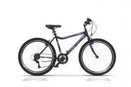 """Bicicleta ULTRA Gravita 26"""" negru 460mm"""
