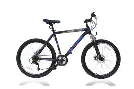 "Bicicleta ULTRA Razor 26"" negru/albastru 520mm"