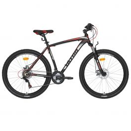 """Bicicleta ULTRA Nitro 27.5"""" negru/rosu 480mm"""