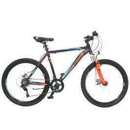 "Bicicleta ULTRA Agressor 26"" negru/portocaliu 520mm"