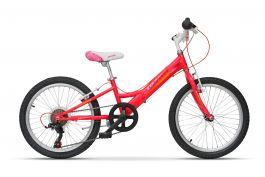 """Bicicleta ULTRA Larisa 20"""" 6 viteze - roz"""