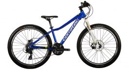 "Bicicleta CORRATEC X-Vert Rock Team 26"" albastru/verde/alb 390mm"