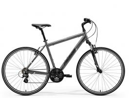 Bicicleta MERIDA Crossway 10-V S/M(48) Antracit Mat (Alb) 2018