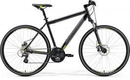 Bicicleta MERIDA Crossway 15-MD LADY S 46 Negru Galben Gri