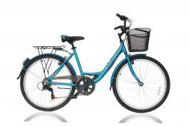 """Bicicleta ULTRA Riviera CTB 26"""" albastru 460mm"""