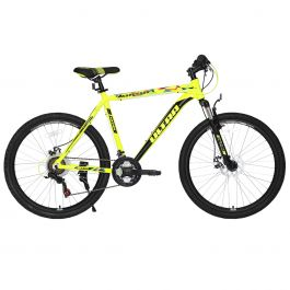 "Bicicleta ULTRA Agressor 26"" galben 520mm"