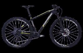 Bicicleta CORRATEC Revolution Elite 29 negru / galben neon / alb - 540mm