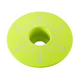 Capac furca SUPACAZ Star  - galben neon (powder coated)