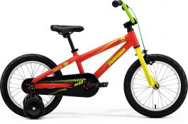 Bicicleta MERIDA Matts J.16 16' (9') Rosu (Galben/Verde) 2019