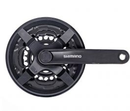 Angrenaj SHIMANO Tourney FC-TY301 6x7x8 viteze 42-34-24T brat 175mm
