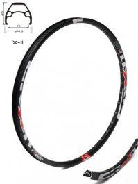 Janta CROSSER X11 27.5'' 32H negru - capsata