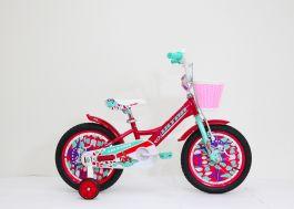 "Bicicleta ULTRA Larisa 16"" rosu/vernil"