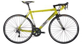 Bicicleta CORRATEC Dolomiti Elite galben neon /alb / negru - 570mm