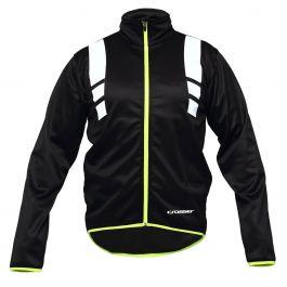 Jacheta ciclism CROSSER RS-588 negru/verde L