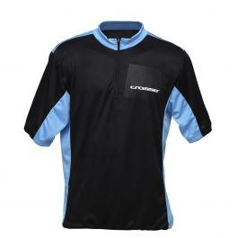 Tricou ciclism CROSSER CW-17-105 - Negru/Albastru L
