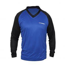 Bluza CROSSER MTB - Albastru/Negru M