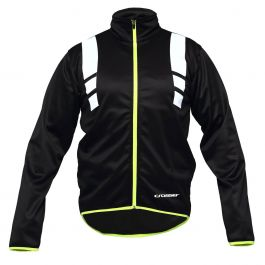 Jacheta ciclism CROSSER RS-588 negru/verde XL