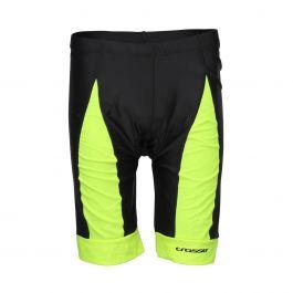 Pantaloni scurti ciclism CROSSER CW-17-106 cu bazon negru/albastru M