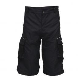 Pantaloni scurti ciclism CROSSER CW-598 cu bazon negru M
