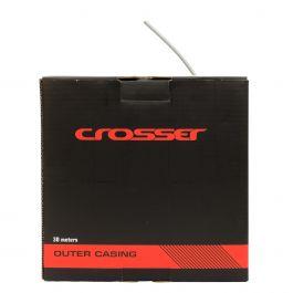 Camasa cablu frana CROSSER 2p-09aym - rola 30m - Gri