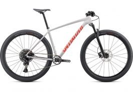 Bicicleta SPECIALIZED Chisel Comp 29'' - Gloss Dove Grey/Rocket Red/Crimson L
