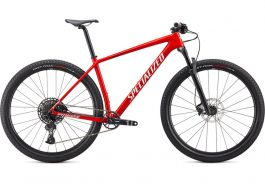 Bicicleta SPECIALIZED Epic Hardtail 29'' - Gloss Flo Red/Metallic White Silver/Tarmac Black M