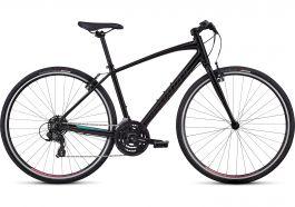 Bicicleta SPECIALIZED Sirrus V-Brake - Women's Spec - Tarmac Black / Gloss Acid Mint / Gloss Acid Pink L
