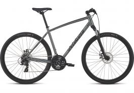 Bicicleta SPECIALIZED Crosstrail - Mechanical Disc - Satin Charcoal/Black/Black Reflective L