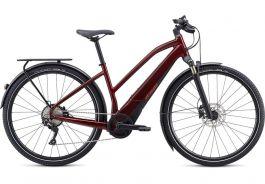 Bicicleta SPECIALIZED Turbo Vado 4.0 Step-Through - Metallic Crimson/Black/Rocket Red L