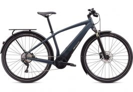 Bicicleta SPECIALIZED Turbo Vado 4.0 - Satin Carbon/Black/Liquid Silver M