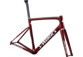 Cadru SPECIALIZED S-Works Tarmac Disc - Gloss Spectraflair/Red Tint/Metallic White Silver 49