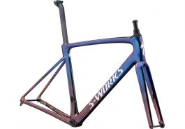 Cadru SPECIALIZED S-Works Roubaix - Sunset Chameleon - Chameleon Fade/Holographic Reflective 52