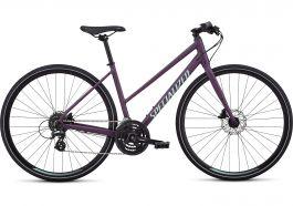 Bicicleta SPECIALIZED Sirrus Step-Through - Women's Spec - Cast Berry/Mint M
