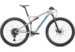 Bicicleta SPECIALIZED Epic Comp Carbon 29 Gloss Dove Grey Blue Ghost Pearl/Pro Blue M