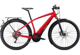 Bicicleta SPECIALIZED Turbo Vado 6.0 - Flo Red/Blue Ghost Pearl S