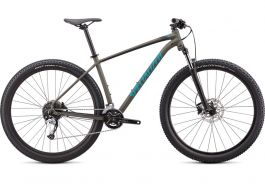 Bicicleta SPECIALIZED Rockhopper Comp 2X 29 Satin Oak Green/Aqua L